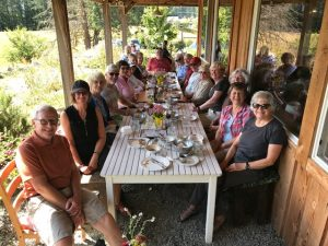 Lunch following Cowichan Provincial Park Hike at Alderlea Farm and Cafe